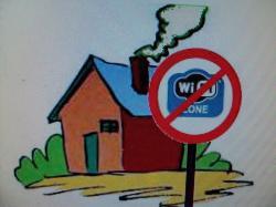 Zone sans wifi ni ondes courtes !!!!!